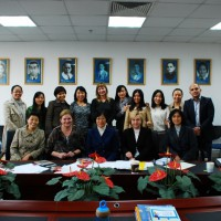 Кафедра русского языка Педагогического университета принимает российских коллег