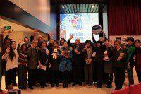 Участники мероприятия желают успеха Олимпиаде в Сочи