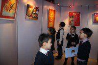 Посетители экспозиции
