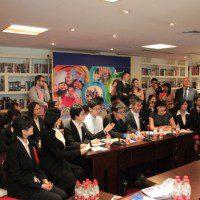 Выступления китайских студентов