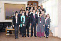 Делегация представителей из Китая в Россотрудничестве