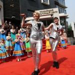 现代舞工作室于4月12日在北京俄罗斯文化中心开办<br>12 апреля в Российском культурном центре в Пекине открылась студия современного танца
