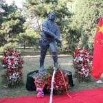 苏联航空志愿队雕塑在京揭幕<br>В Пекине открылся памятник советским летчикам-добровольцам