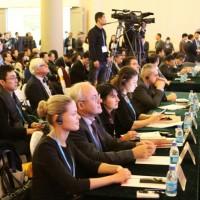 Представитель Россотрудничества Виктор Коннов среди российских участников