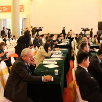 Представитель Россотрудничества  в Китае на конференции