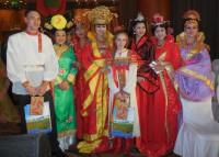 Группа Российского культурного центра с китайскими участницами