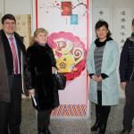 向俄罗斯文化中心中方合作伙伴恭贺新年 Поздравление китайских партнеров Российского культурного центра накануне Китайского Нового года