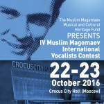REGULATIONS of the IV Muslim Magomaev International Vocalists Contest
