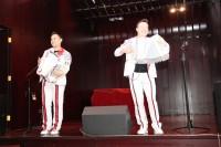 演员在俄罗斯文化中心的舞台上Артисты на сцене РКЦ