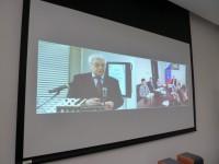 视频会议期间Выступает докладчик