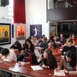 Тотальный диктант в Российском культурном центре в Пекине