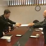 俄罗斯国际人文合作署驻华代表 在中国教育部举行工作会谈 Представители Россотрудничества в Китае  провели рабочую встречу в Министерстве образования КНР