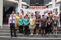 文化中心的活动参与者Участники мероприятия в Российском культурном центре