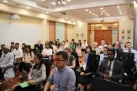 国际研讨会与会者Участники международного семинара