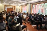 联合国开发计划署研讨会的参加者们Участники семинара в ПРООН