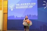 Директор представительства ПРООН в Китае г-жа Аги Верес