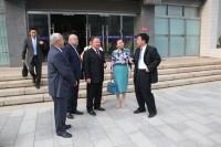 俄罗斯代表团与北京联合大学领导Российская делегация с руководством Объединенного университета Пекина