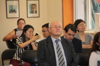 作为研讨会与会者一员的代表处负责人维克多 孔诺夫Руководитель представительства Виктор Коннов среди участников семинара