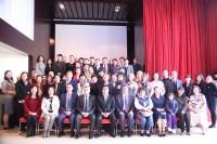 与会者集体合影Коллективный снимок участников конференции