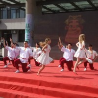 俄罗斯留学生队演出Выступление сборной команды российских студентов