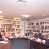 探讨联合工作计划Обсуждение планов совместной деятельности