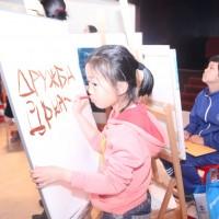 """中国孩子写""""友谊""""一词Китайские дети пишут слово «ДРУЖБА»"""