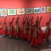 中国传统乐器琵琶演奏Игра китайском национальном инструменте пипа