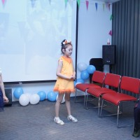 孩子们的演出 Выступление детей
