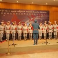 中方演出人员献唱Выступление китайских артистов
