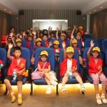 中国儿童游览俄罗斯文化中心 В Российском культурном центре прошла экскурсия для китайских детей