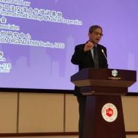 潘光教授作国际会议开场致辞Профессор Пань Гуан открывает международную конференцию