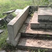 被损毁的墓地Разрушающиеся захоронения