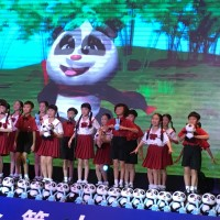 展映动画片《熊猫和开心球》Демонстрация мультфильма «Панда и Крош»