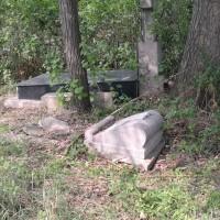 被损毁的墓地 Разрушающиеся захоронения