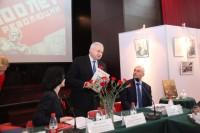 俄罗斯驻华大使安德烈.杰尼索夫向与会人士致意Посол России Андрей Денисов приветствует участников Семинара