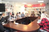 在与作家鲁坚科的见面会上На встрече с писателем В.Руденко