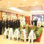 高莽告别仪式于北京八宝山公墓举行 На кладбище Бабаошань в Пекине состоялась церемония прощания с Гао Маном