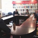 与数学在线竞赛组织者的座谈于俄罗斯文化中心举行 В Российском культурном центре состоялась встреча с организаторами он-лайн олимпиады по математике