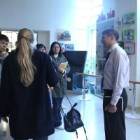 参观文化中心Экскурсия по Российскому культурному центру