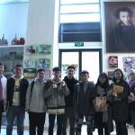 中国大学生参观俄罗斯文化中心 Китайские студенты посетили Российский культурный центр