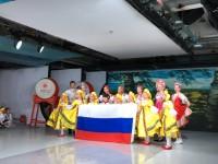 俄罗斯队表演Выступление российской команды