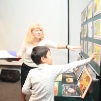 参与幼儿知识抢答Викторина для юных участников мероприятия