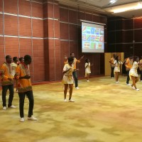 外国留学生演出Выступление иностранных студентов