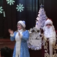 严冬老人Дед Мороз и Снегурочка
