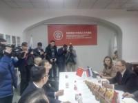 Церемония открытия представительства СПбГУ в Харбине
