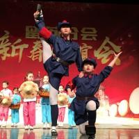 中方歌舞团体演出Китайские танцевально-песенные коллективы