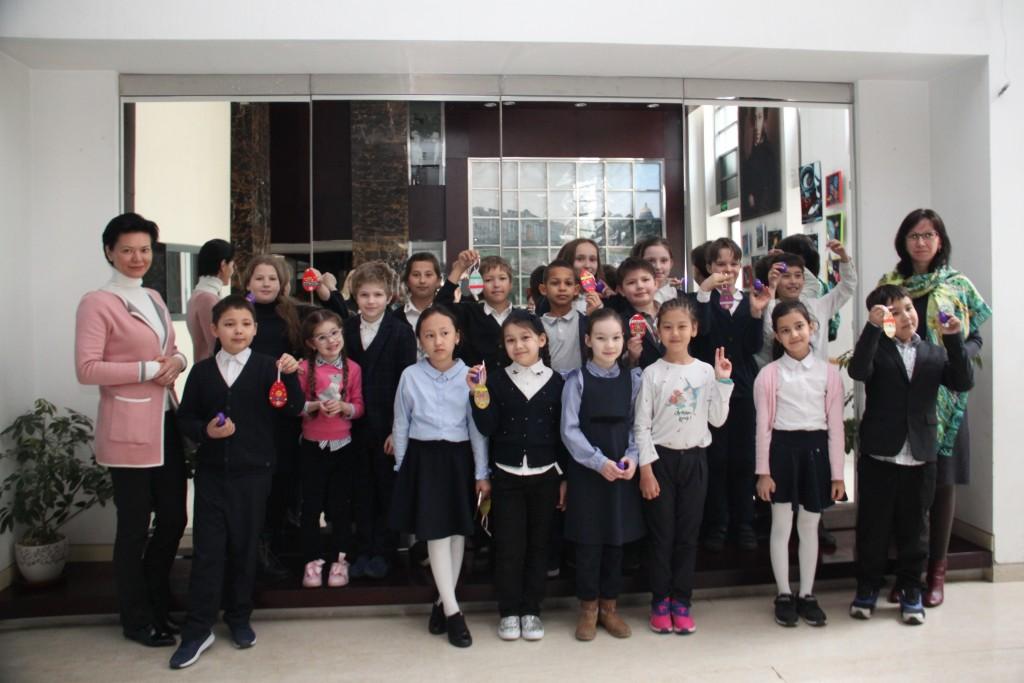 Маленькие гости Российского культурного центра