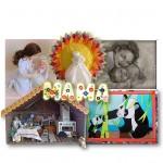 """世界各国的妈妈""手工作品展 Выставка прикладного творчества «МАМА на всех языках»"