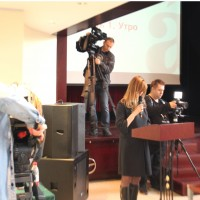 俄媒采访听写人员  Интервью участников российским СМИ