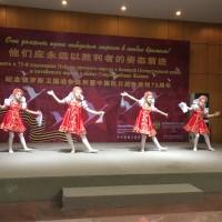 Выступают танцевальные коллективы Российского культурного центра